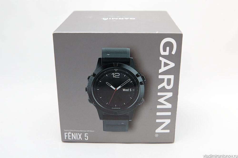 Подробный обзор часов Garmin Fenix 5