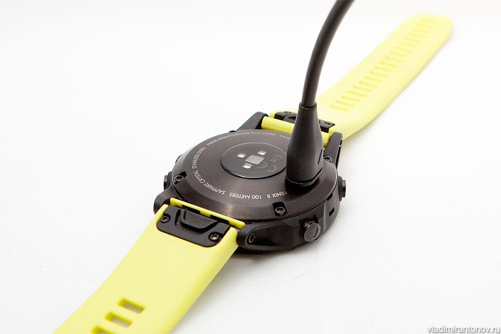 Garmin Fenix 5 - шнур для зарядки